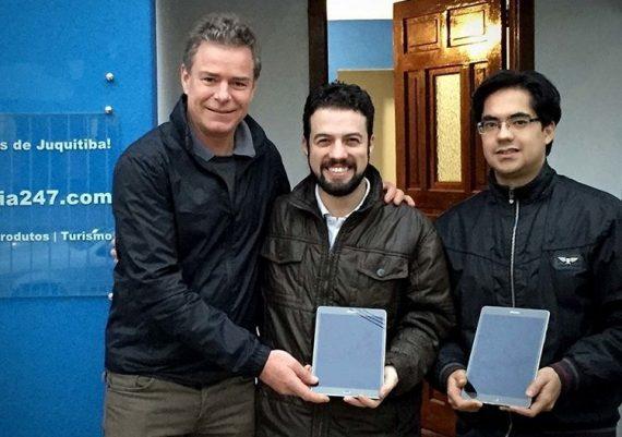 Empreendimentos apoiados pelo Instituto Meio ganharam tablets para turbinar as vendas!
