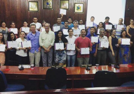 Empreende Tapiraí - Entrega de certificados