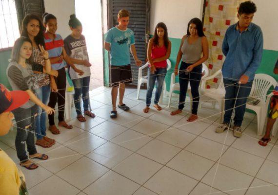Projeto Jovem Cidadão - Dinâmica: A Teia da Amizade