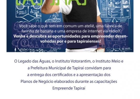 Empreende Tapiraí - Flyer