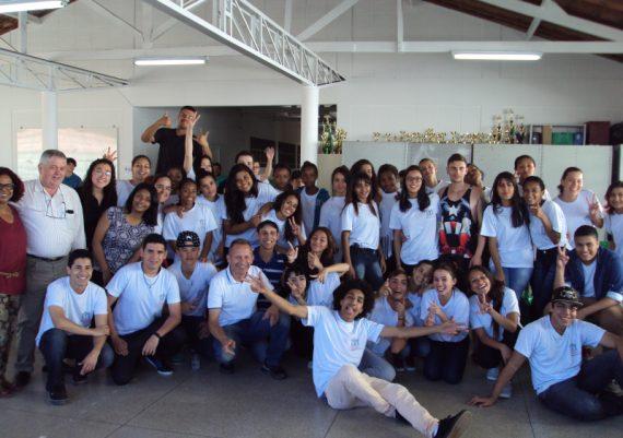 Jovem Cidadão - Tarde da Feijuca (Integrantes do projeto)