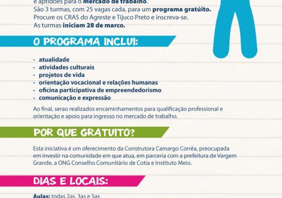 Projeto Jovem Cidadão - Afiche