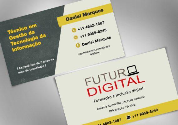 Empreende Juquitiba - Cartão de visita para o projeto Futuro Digital